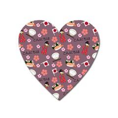 Japan Girls Heart Magnet by kiroiharu