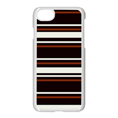 Classic Coffee Brown Iphone 8 Seamless Case (white)