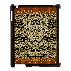 Free As A Flower And Frangipani In  Freedom Apple Ipad 3/4 Case (black)