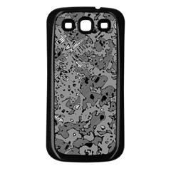 Comic Book Camouflage Samsung Galaxy S3 Back Case (black)