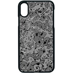 Comic Book Camouflage Iphone Xs Seamless Case (black)