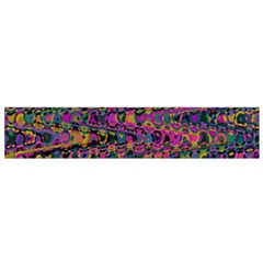 Colorful Bohemian Mosaic Pattern Small Flano Scarf