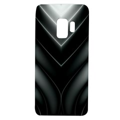 Black And Silver Pattern Samsung Galaxy S9 Tpu Uv Case