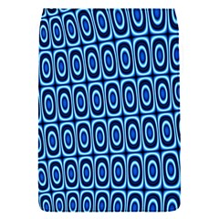 Abstract Blue Circles Mosaic Removable Flap Cover (s) by SpinnyChairDesigns