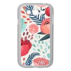 Floral  Samsung Galaxy Grand Duos I9082 Case (white)