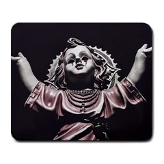 Angel Crying Blood Dark Style Poster Large Mousepads