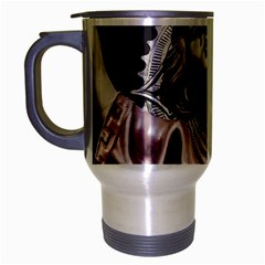 Angel Crying Blood Dark Style Poster Travel Mug (silver Gray)
