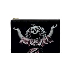 Angel Crying Blood Dark Style Poster Cosmetic Bag (medium)