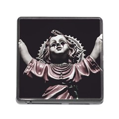 Angel Crying Blood Dark Style Poster Memory Card Reader (square 5 Slot)