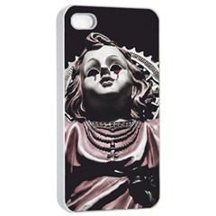 Angel Crying Blood Dark Style Poster Iphone 4/4s Seamless Case (white)
