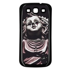 Angel Crying Blood Dark Style Poster Samsung Galaxy S3 Back Case (black)
