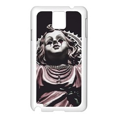 Angel Crying Blood Dark Style Poster Samsung Galaxy Note 3 N9005 Case (white)
