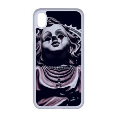 Angel Crying Blood Dark Style Poster Iphone Xr Seamless Case (white)