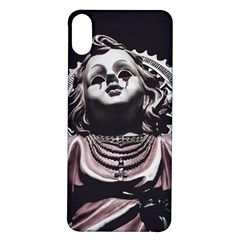 Angel Crying Blood Dark Style Poster Iphone X/xs Soft Bumper Uv Case
