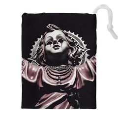 Angel Crying Blood Dark Style Poster Drawstring Pouch (4xl)