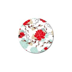 Floral Pattern  Golf Ball Marker (10 Pack) by Sobalvarro