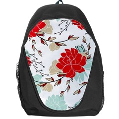 Floral Pattern  Backpack Bag by Sobalvarro