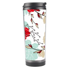 Floral Pattern  Travel Tumbler by Sobalvarro