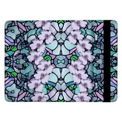 Paradise Flowers In Paradise Colors Samsung Galaxy Tab Pro 12 2  Flip Case