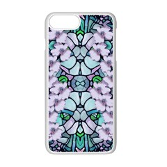 Paradise Flowers In Paradise Colors Iphone 7 Plus Seamless Case (white)