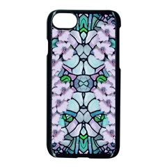 Paradise Flowers In Paradise Colors Iphone 7 Seamless Case (black)