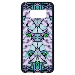 Paradise Flowers In Paradise Colors Samsung Galaxy S8 Black Seamless Case