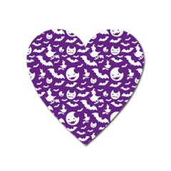 Halloween  Heart Magnet by Sobalvarro