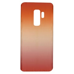 Vermilion Coral Sunset Gradient Ombre Samsung Galaxy S9 Plus Tpu Uv Case by SpinnyChairDesigns