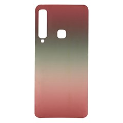 Tea Rose And Sage Gradient Ombre Colors Samsung Galaxy A9 Tpu Uv Case