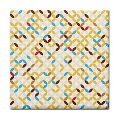 Tekstura-seamless-retro-pattern Tile Coaster by Sobalvarro