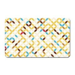 Tekstura-seamless-retro-pattern Magnet (rectangular) by Sobalvarro