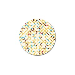 Tekstura-seamless-retro-pattern Golf Ball Marker (10 Pack) by Sobalvarro