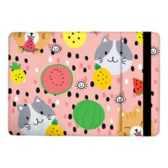 Cats And Fruits  Samsung Galaxy Tab Pro 10 1  Flip Case by Sobalvarro