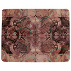 Tea Rose Pink And Brown Abstract Art Color Jigsaw Puzzle Photo Stand (rectangular) by SpinnyChairDesigns