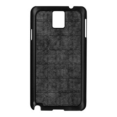 Matte Charcoal Black Color  Samsung Galaxy Note 3 N9005 Case (black)