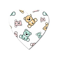 Bears Heart Magnet by Sobalvarro