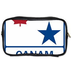 Canam Highway Shield  Toiletries Bag (two Sides) by abbeyz71