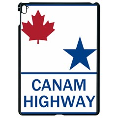 Canam Highway Shield  Apple Ipad Pro 9 7   Black Seamless Case by abbeyz71