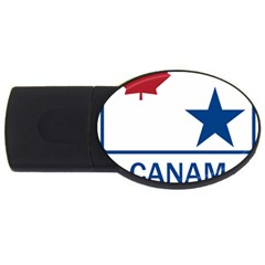Canam Highway Shield  Usb Flash Drive Oval (2 Gb)