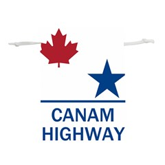 Canam Highway Shield  Lightweight Drawstring Pouch (m) by abbeyz71