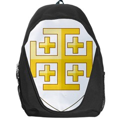 Arms Of The Kingdom Of Jerusalem Backpack Bag by abbeyz71