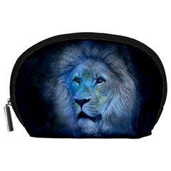 Astrology Zodiac Lion Accessory Pouch (large)