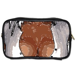 Sexy Boobs Breast Cleavage Woman Toiletries Bag (two Sides)