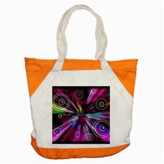 Fractal Circles Abstract Accent Tote Bag