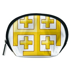 Arms Of The Kingdom Of Jerusalem Accessory Pouch (medium)