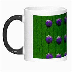 Power To The Big Flowers Festive Morph Mugs by pepitasart