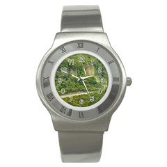 Amazonia Landscape, Banos, Ecuador Stainless Steel Watch