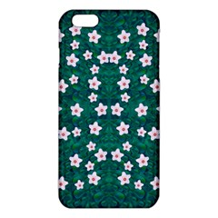 Porcelain Flowers  On Leaves Iphone 6 Plus/6s Plus Tpu Case