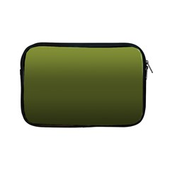 Army Green Gradient Color Apple Ipad Mini Zipper Cases by SpinnyChairDesigns