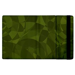 Army Green Color Pattern Apple Ipad Mini 4 Flip Case